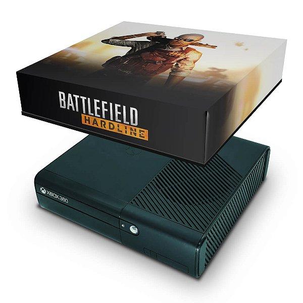 Xbox 360 Super Slim Capa Anti Poeira - Battlefield Hardline