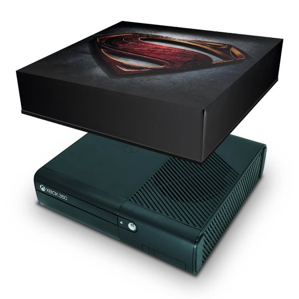Xbox 360 Super Slim Capa Anti Poeira - Superman