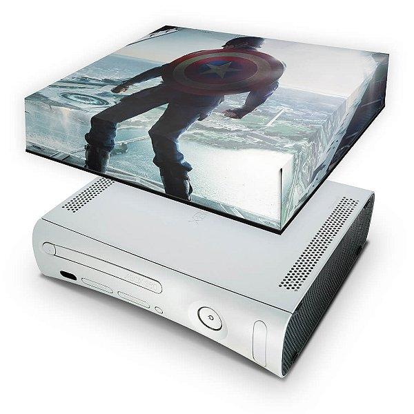 Xbox 360 Fat Capa Anti Poeira - Capitão América