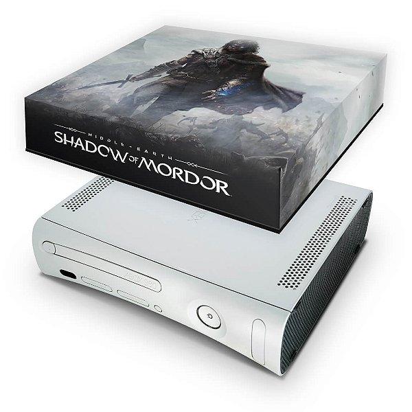 Xbox 360 Fat Capa Anti Poeira - Shadow Of Mordor