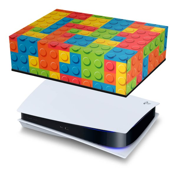 PS5 Capa Anti Poeira - Lego Peça