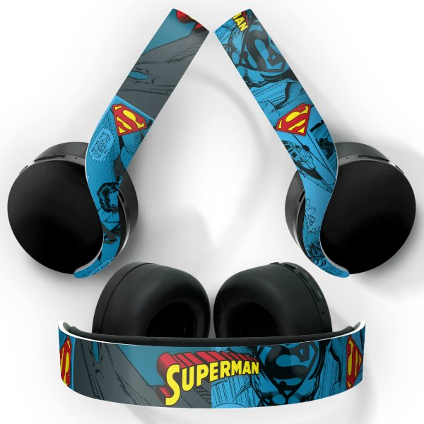 PS5 Skin Headset Pulse 3D - Superman Comics