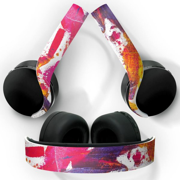 PS5 Skin Headset Pulse 3D - Abstrato #103