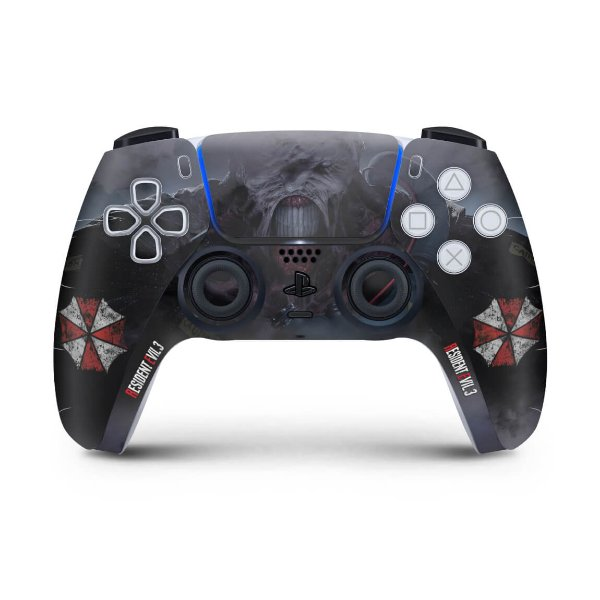 Skin PS5 Controle - Resident Evil 3 Remake