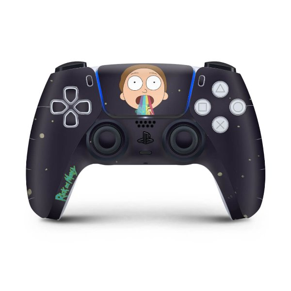 Skin PS5 Controle - Morty Rick And Morty