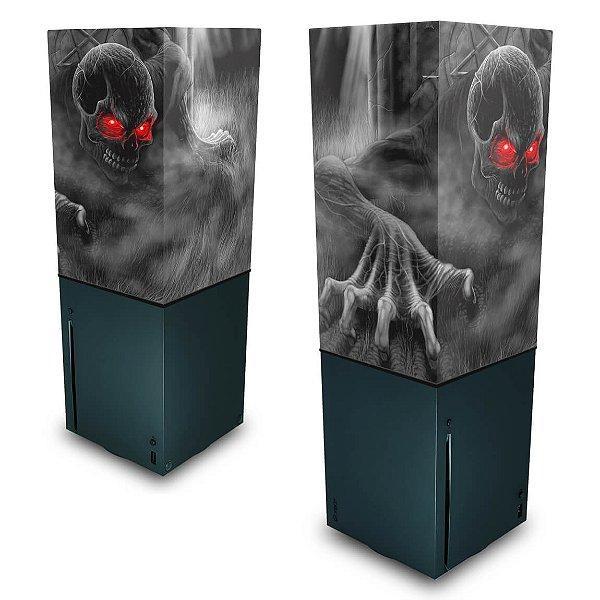 Xbox Series X Capa Anti Poeira - Caveira Skull
