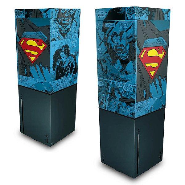 Xbox Series X Capa Anti Poeira - Superman Comics