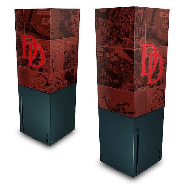 Xbox Series X Capa Anti Poeira - Daredevil Demolidor Comics