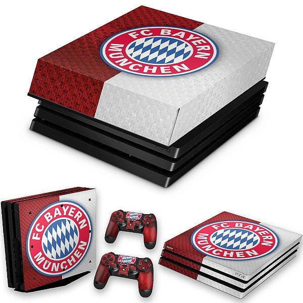KIT PS4 Pro Skin e Capa Anti Poeira - Bayern