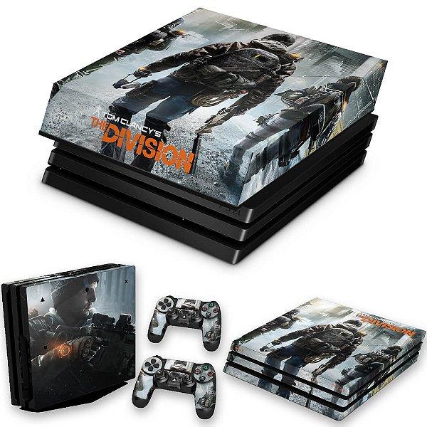 KIT PS4 Pro Skin e Capa Anti Poeira - Tom Clancy'S The Division
