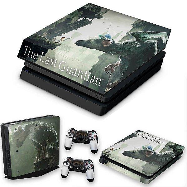 KIT PS4 Slim Skin e Capa Anti Poeira - The Last Guardian