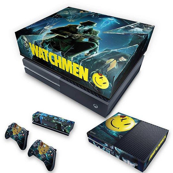 KIT Xbox One Fat Skin e Capa Anti Poeira - Watchmen