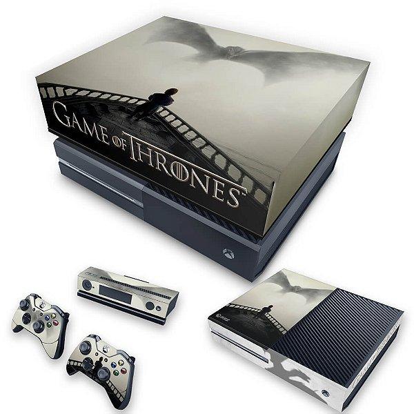 KIT Xbox One Fat Skin e Capa Anti Poeira - Game of Thrones #B