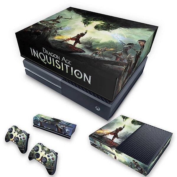 KIT Xbox One Fat Skin e Capa Anti Poeira - Dragon Age Inquisition