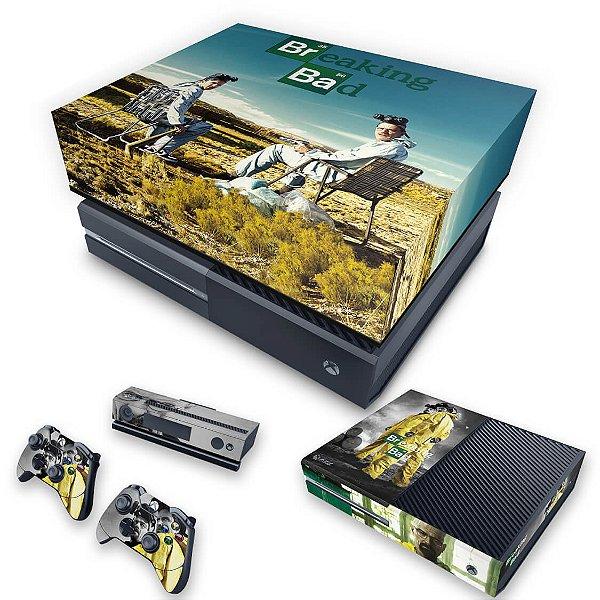 KIT Xbox One Fat Skin e Capa Anti Poeira - Breaking Bad