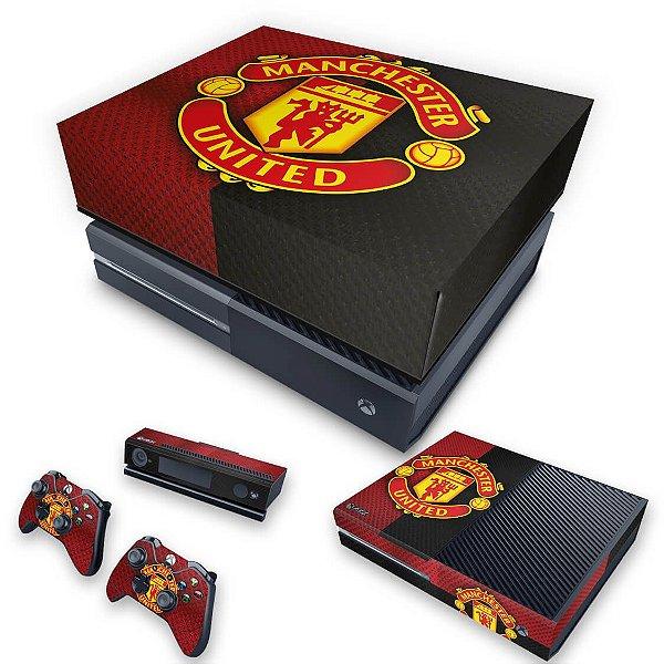 KIT Xbox One Fat Skin e Capa Anti Poeira - Manchester United