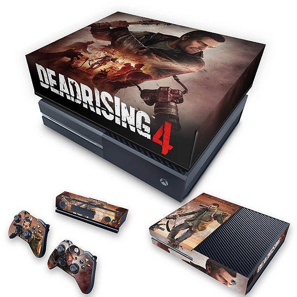 KIT Xbox One Fat Skin e Capa Anti Poeira - Dead Rising 4