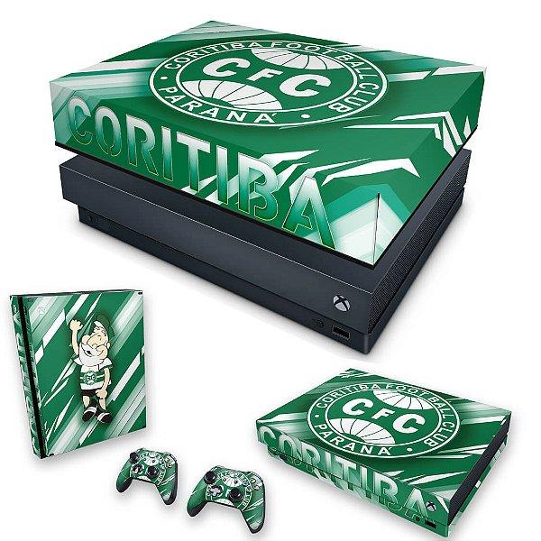 KIT Xbox One X Skin e Capa Anti Poeira - Coritiba