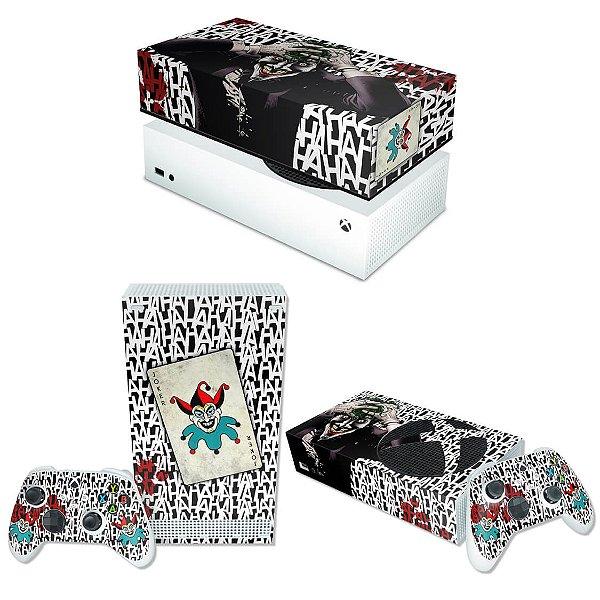 KIT Xbox Series S Skin e Capa Anti Poeira - Joker Coringa