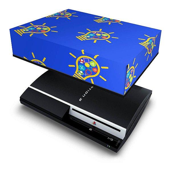 PS3 Fat Capa Anti Poeira - Personalizada