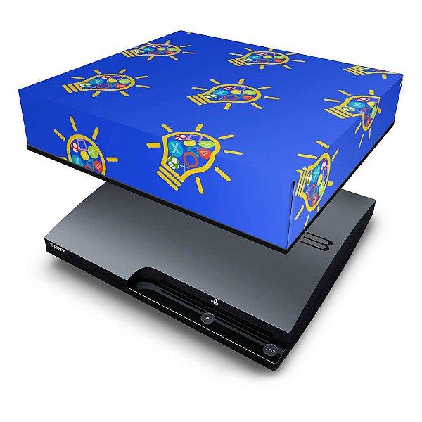 PS3 Slim Capa Anti Poeira - Personalizada