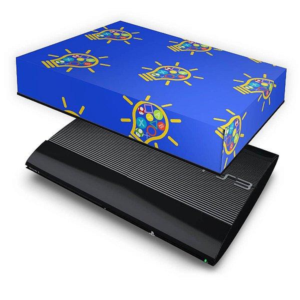 PS3 Super Slim Capa Anti Poeira - Personalizada