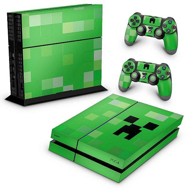 PS4 Fat Skin - Creeper Minecraft