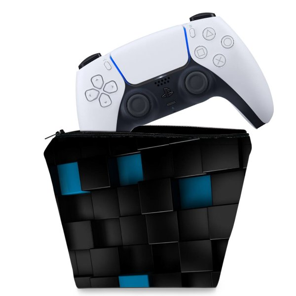 Capa PS5 Controle Case - Cubos