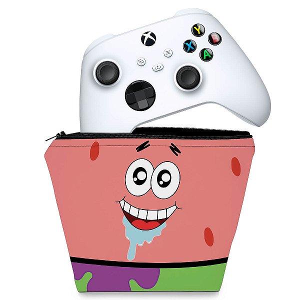 Capa Xbox Series S X Controle Case - Patrick Bob Esponja