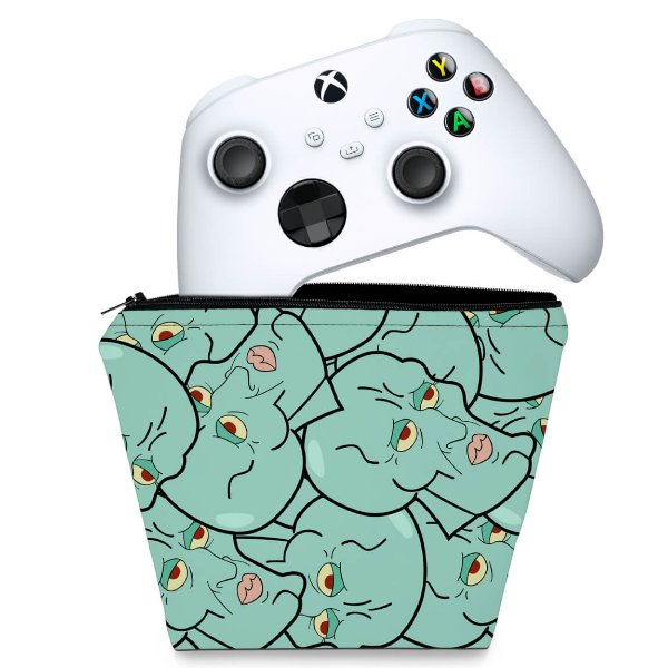 Capa Xbox Series S X Controle Case - Lula Molusco Bob Esponja