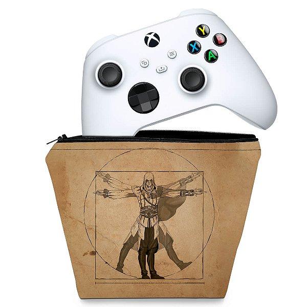 Capa Xbox Series S X Controle Case - Assassin'S Creed Vitruviano