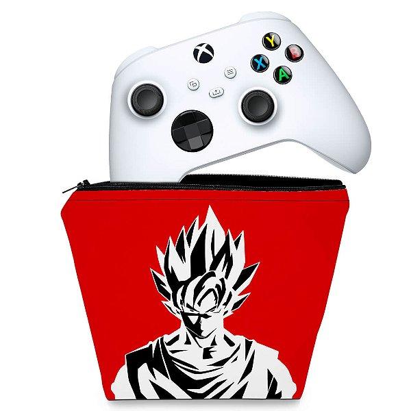 Capa Xbox Series S X Controle Case - Dragon Ball Goku Kaiô