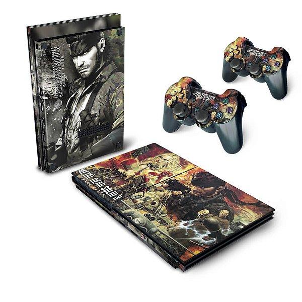 PS2 Slim Skin - Metal Gear Solid 3