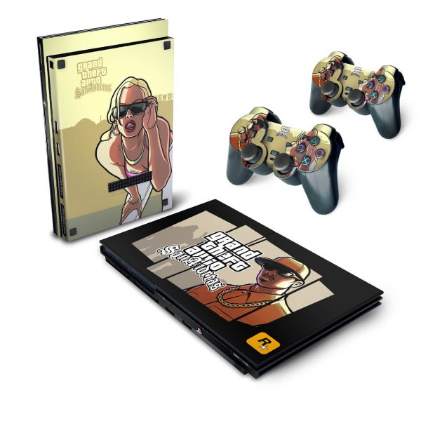 PS2 Slim Skin - GTA San Andreas