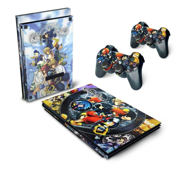 PS2 Slim Skin - Kingdom Hearts II 2