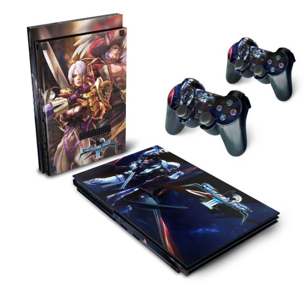 PS2 Slim Skin - SoulCalibur III