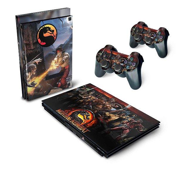 PS2 Slim Skin - Mortal Kombat