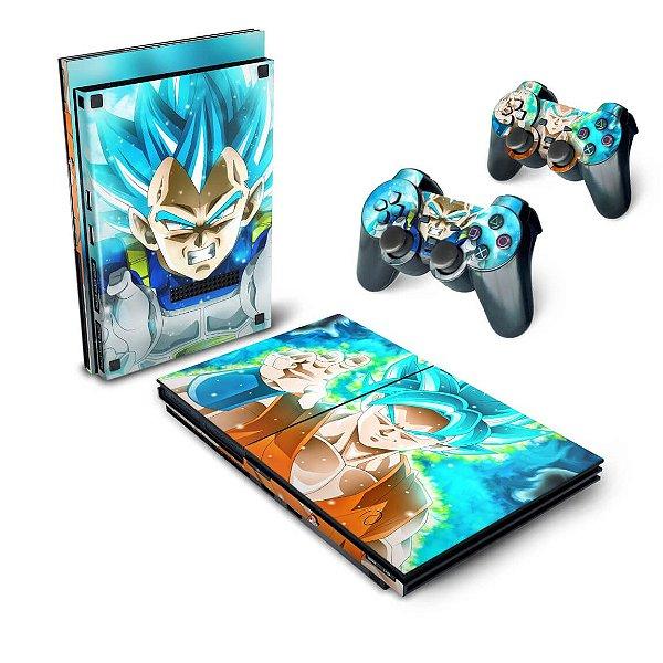 PS2 Slim Skin - Dragon Ball Super