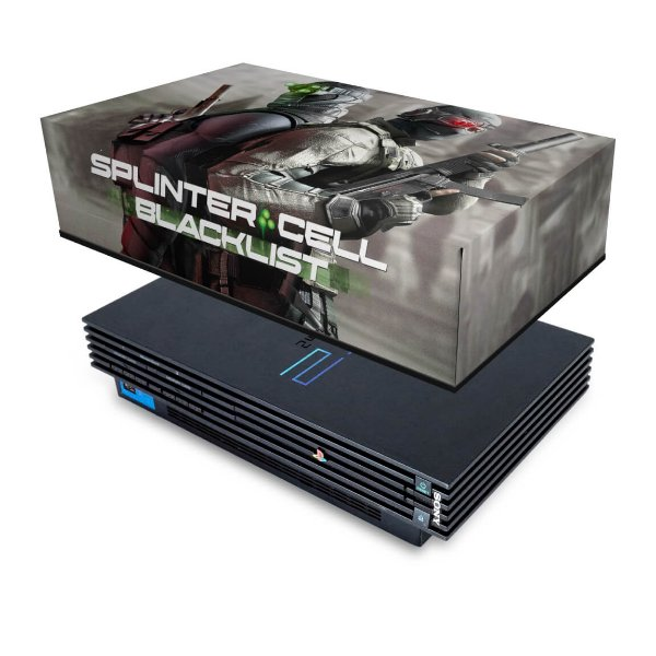 PS2 Fat Capa Anti Poeira - Splinter Cell