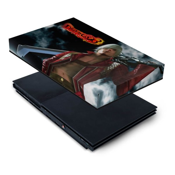 PS2 Slim Capa Anti Poeira - Devil May Cry 3