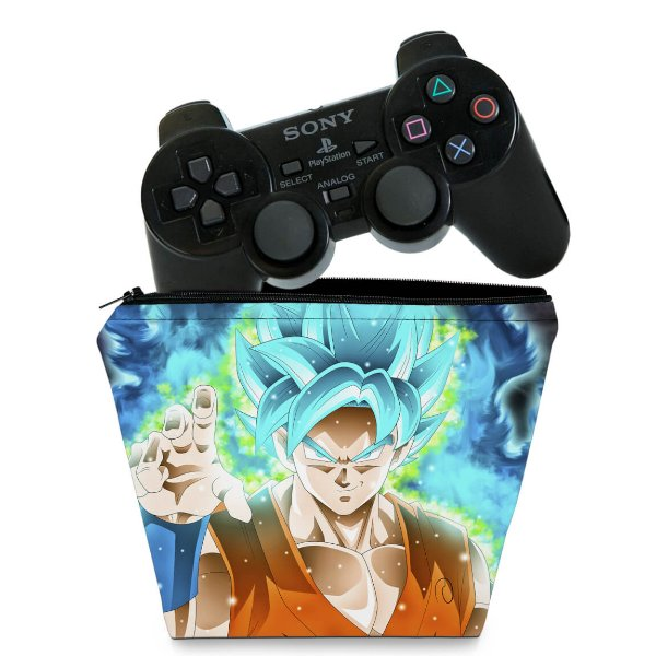 Capa PS2 Controle Case - Dragon Ball Super