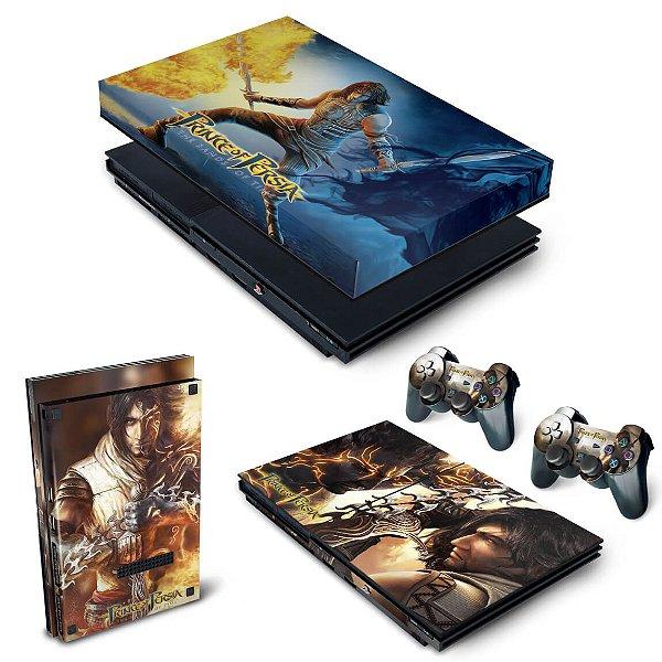 KIT PS2 Slim Skin e Capa Anti Poeira - Prince Of Persia