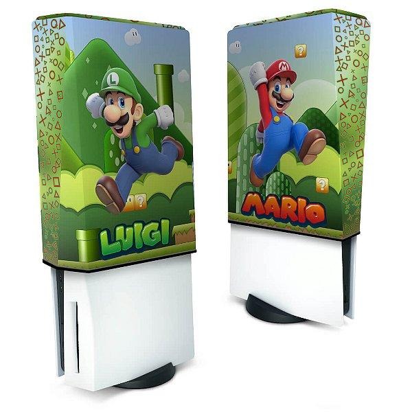 Capa PS5 Anti Poeira - Super Mario