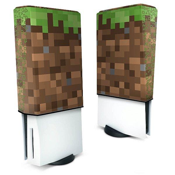 Capa PS5 Anti Poeira - Minecraft