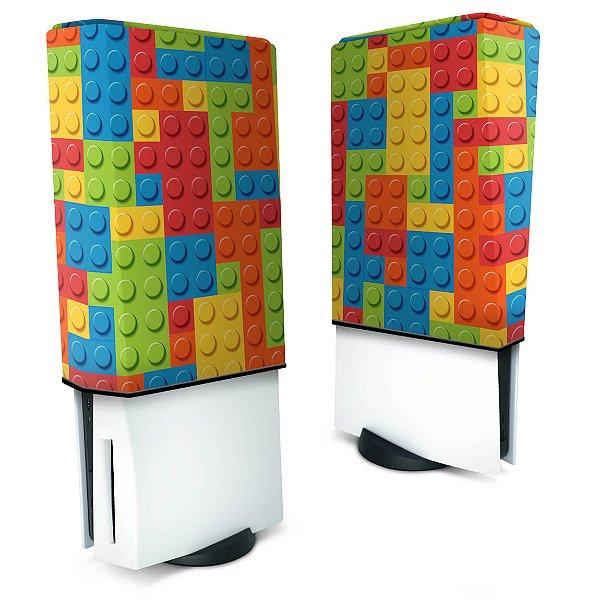Capa PS5 Anti Poeira - Lego Peça