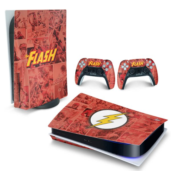 Skin PS5 - The Flash Comics