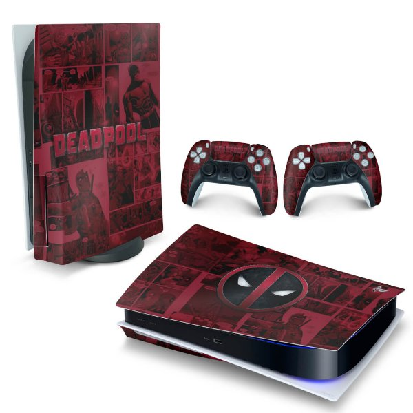 Skin PS5 - Deadpool Comics