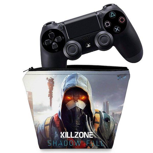 Capa PS4 Controle Case - Killzone Shadow Fall