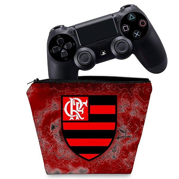 Capa PS4 Controle Case - Flamengo
