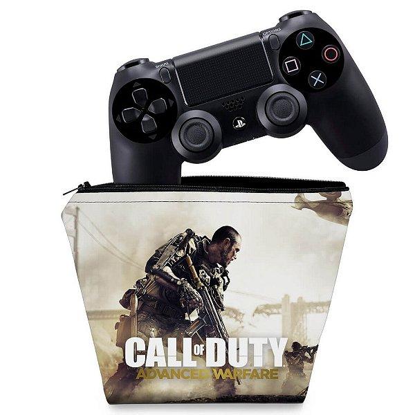Capa PS4 Controle Case - Call Of Duty Advanced Warfare